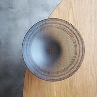 オオタ硝子研究室 鉢 ダークグレー     OT-11