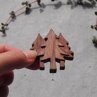 sunawo na katachi      ブローチ TREES      SN-05