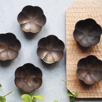 輪花豆鉢/草木染 svf-80