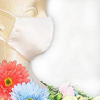 お得な2枚セット(洗い替えに便利) 美容シルクマスク:made in JAPAN