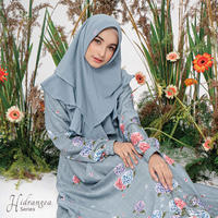 Hydrangea Series (Set with Khimar)