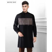 Pathan Sine Shirt (Black)