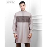 Pathan Sine Shirt (Clay Grey)