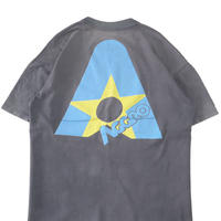"80's~90's Stedman ""TRACKER AGGRO"" 両面 プリント Tシャツ XLサイズ USA製"