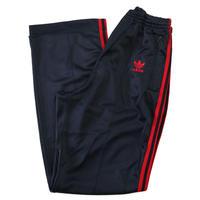 80's Adidas Track Jersey Pants Black×Red Lサイズ USA製