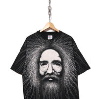 90's JERRY GARCIA Hanesボディ 両面プリント Tシャツ コピーライト
