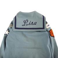 """""""Unisex"""" 70's~80's NEFF Sailor Collar Wool Varsity Jacket USA製"""