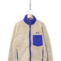 PATAGONIA Classic Retro Cardigan Fleece Jacket NATURAL Mサイズ