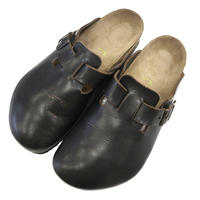 "BIRKENSTOCK ""BOSTON"" レザー Dark Brown 42"