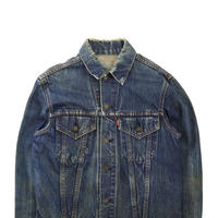 "60's~ LEVI'S 70505 ""BIG-E"" DENIM TRACKER JACKET (40相当)"