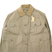 """Women's"" 50's Abercrombie&Fitch SAFARI JACKET Beige 14サイズ"