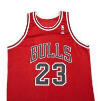 "90's CHAMPION CHICAGO BULLS ""JORDAN"" 48サイズ USA製"