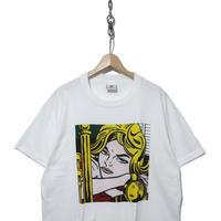 90's Roy Lichtenstein 両面プリント Pop Art Tシャツ XLサイズ USA製