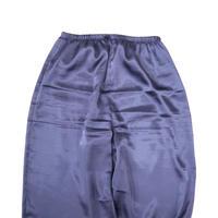"""""""Unisex"""" 90's~00's SATIN PANTS BLUE Lサイズ"""