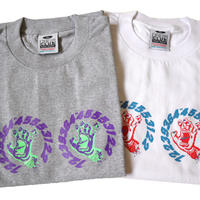 """新品 SANTA CRUZ パロディ""""4連ヤクザハンド"""" Tシャツ XLサイズ"""
