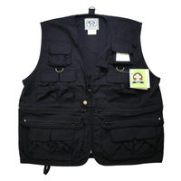 "新品 ROTHCO UNCLE MILTY ""TRAVEL VEST"" BLACK"