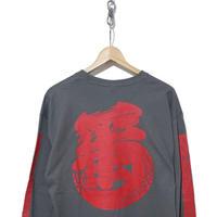 """新品 SNEAKER WOLF """"Kanji-Graphy"""" ロングスリーブTシャツ"""