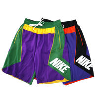"新品 海外限定 NIKE ""Throw Back Shorts"" Nylon Pant Mサイズ"
