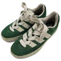 90's ADIDAS アディマティック GREEN/WHITE US7.5