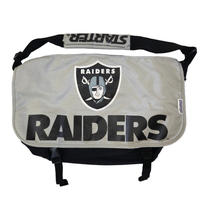 90's STARTER OLD RAIDERS Messenger Bag BLACK×GREY