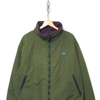 "80's LL Bean ナイロンシェル ""Warm up Jacket"" KHAKI USA製"