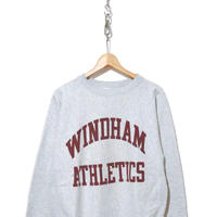 "80's CHAMPION RW SWEAT ""WINDHAM ATHLETICS"" 染み込み Lサイズ USA製"