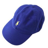 "90's~ POLO by Ralph Lauren ""ポニー"" 6-panel CAP BLUE"