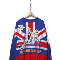 90's ADIDAS ユニオンジャック オリンピックスウェット Lサイズ