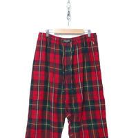 90's~ POLO RALPH LAUREN タータンチェック パジャマパンツ Lサイズ