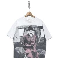 """90's ANDAZIA """"Albert Einstein"""" 大判 両面プリントTシャツ XLサイズ"""