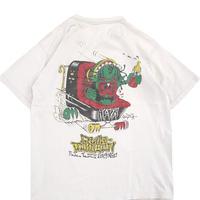 """80's~90's ALVA """"Craig Johnson"""" 両面 プリント Tシャツ Lサイズ USA製"""