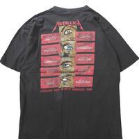 "90's BROCKUM METALLICA ""pushead"" 両面 プリント Tシャツ XLサイズ USA製"