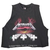 80's~90's giant METALLICA 両面 プリント カットオフ Tシャツ