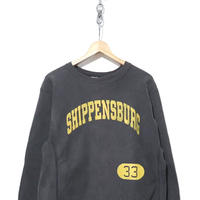 "80's CHAMPION REVERSE WEAVE SWEAT ""Black"" レアプリント Lサイズ"