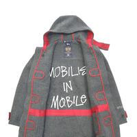 STUSSY×GLOVERALL Wool Duffle Coat GREY Mサイズ ENGLAND製
