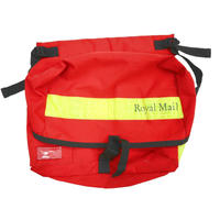 Royal Mail Reflector Messenger Bag RED
