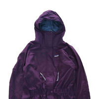 "90's PATAGONIA  Nylon Ski Jacket ""ALL IN ONE"" Eggplant 14サイズ"
