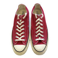 "美品 国内未入荷 Converse ""CT70"" CRIMSON RED Low US10.5"