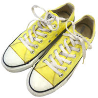 """Ladys"" 90's CONVERSE ALL STAR Low YELLOW US5 USA製"