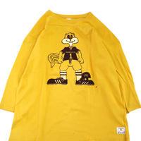 "80's CHAMPION ""MINNESOTA 1"" 両面 プリント フットボール Tシャツ XLサイズ USA製"