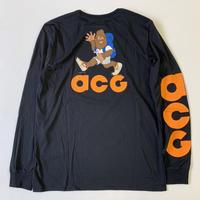 "新品 国内未入荷 NIKE ACG Long sleeveT-shirts ""HIKE NIKE"" BLACK"