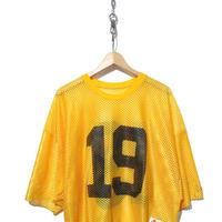 """""""レディース"""" 90's CHAMPION メッシュ ナンバリング フットボール Tシャツ"""