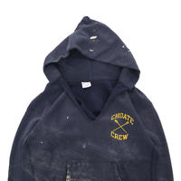 "80's CHAMPION RW SWEAT PARKA ""両面プリント"" Navy XLサイズ USA製"