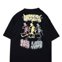 NOS 80's~90's DEADBOLT TRUCKS 両面 プリント Tシャツ Lサイズ USA製