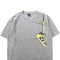 """80's OLD NIKE 肩掛け """"裏ダンク"""" プリント Tシャツ 紺タグ XLサイズ"""