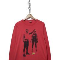 90's  NIKE JORDAN Spike Lee 両面プリント L/STシャツ