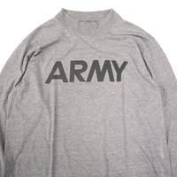 """SOFFE """"ARMY"""" リフレクター モック ロングスリーブ Tシャツ Lサイズ USA製"""