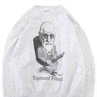 "90's Largely Literary ""Sigmund Freud"" プリント スウェット Lサイズ USA製"