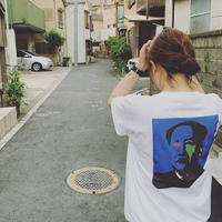 "DNL ""MAO"" 両面 プリント Tシャツ"