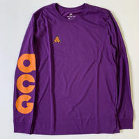 "新品 国内未入荷 NIKE ACG Long sleeveT-shirts ""HIKE NIKE"" PURPLE"